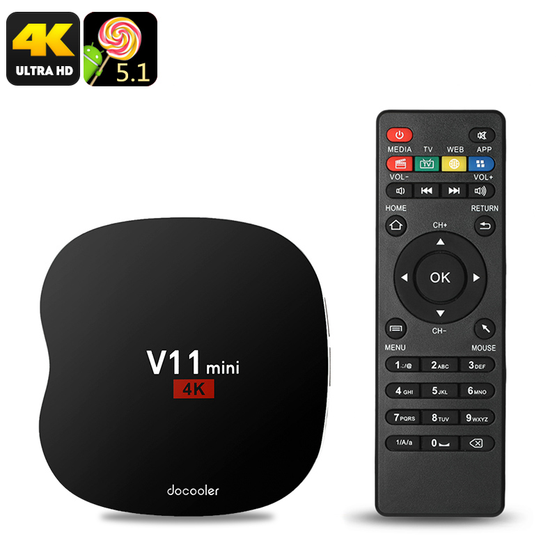 COOWELL V11 Mini Android TV Box