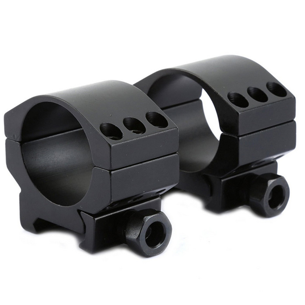 2pcs Full Metal Durable Tactical 30mm Extreme Low Rifle Scope Weaver Mount Rings