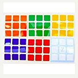 [EU Direct] ThinkMax® 5.7cm 3x3x3 Speed Cubes A Set of High Quality Stickers for Replacement Standard Bright
