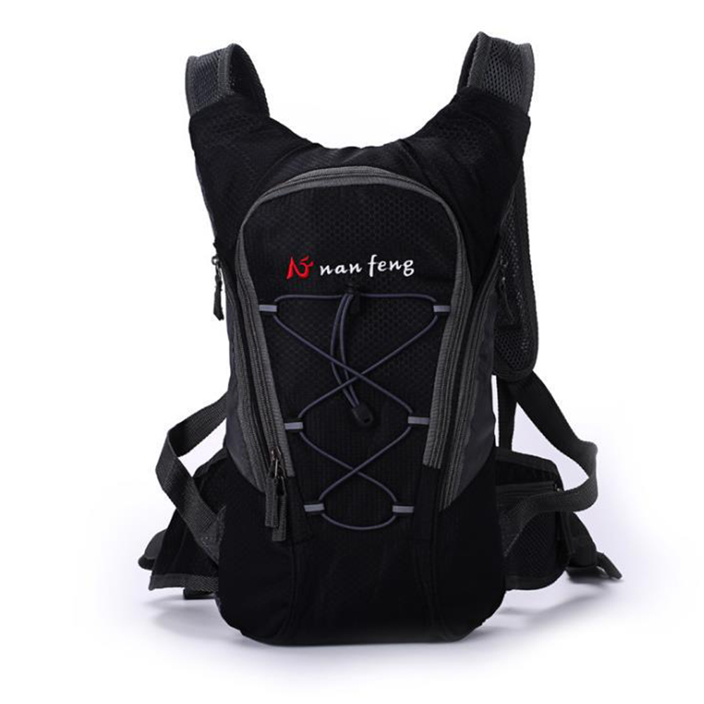 Riding Water Bag Backpack Bicycle 5L Sports Outdoor Riding Bag Cilmbing Travel Shoulders Bag Single backpack black