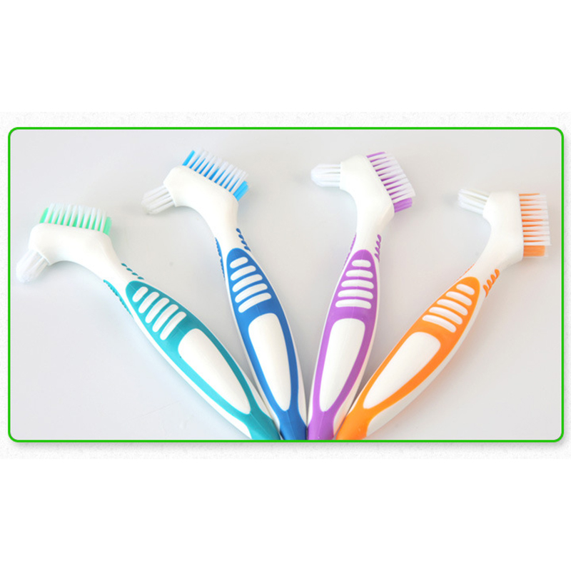 Cleaning Brush Bristles False Teeth Brush