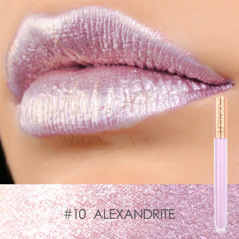 Women Waterproof Nonstick Cup Diamond Shine Matte Lip Gloss Lipstick Pencils Beauty Makeup Cosmetics Christmas Gifts