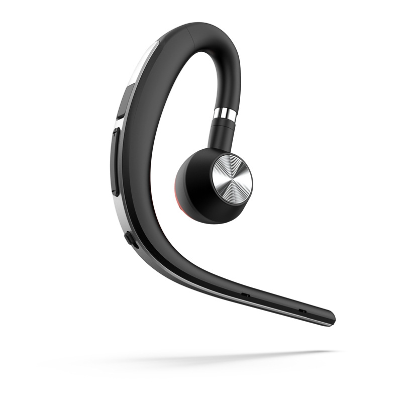 BT1200 Sports Business Bluetooth Headset S8 Wireless Hanging Ear Type In-ear Driving Long Standby Voice Control Report Silver