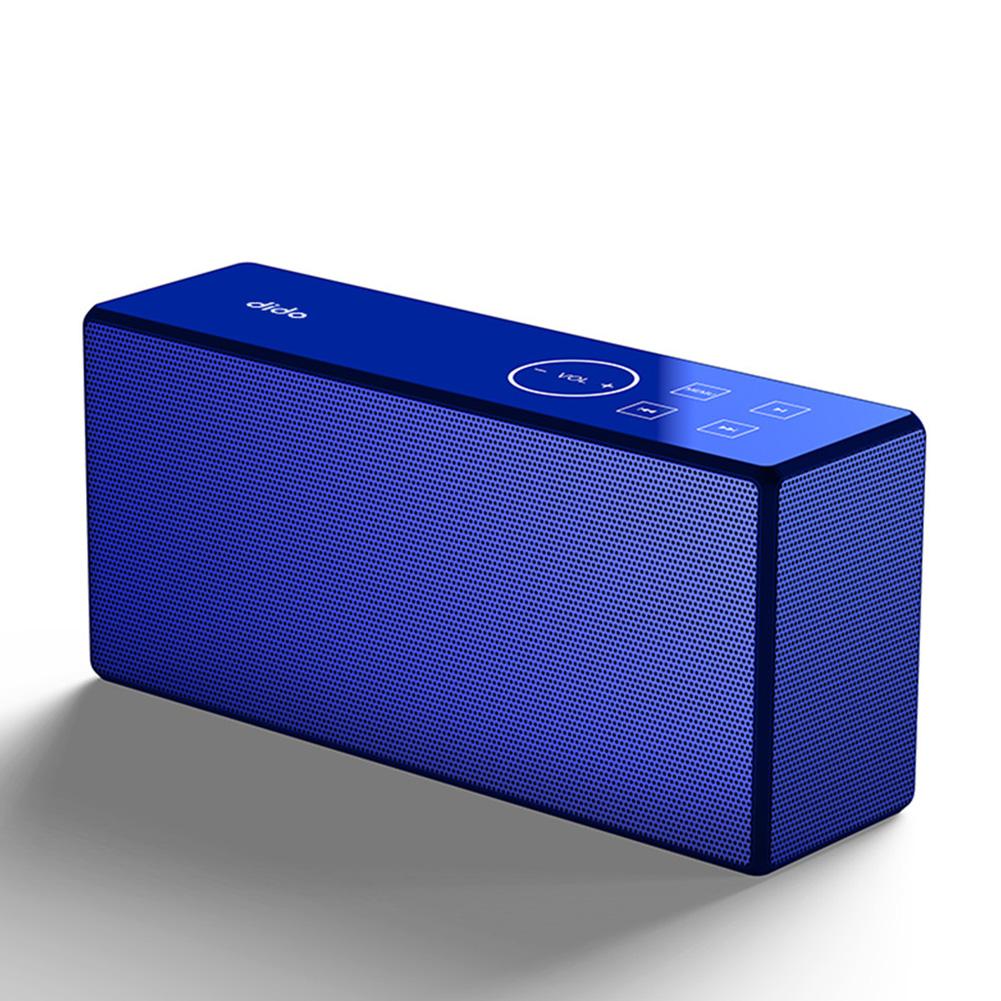 Portable Mini Wireless Bluetooth Bass Stereo Sports Bike Shockproof Subwoofer Outdoor Speaker blue