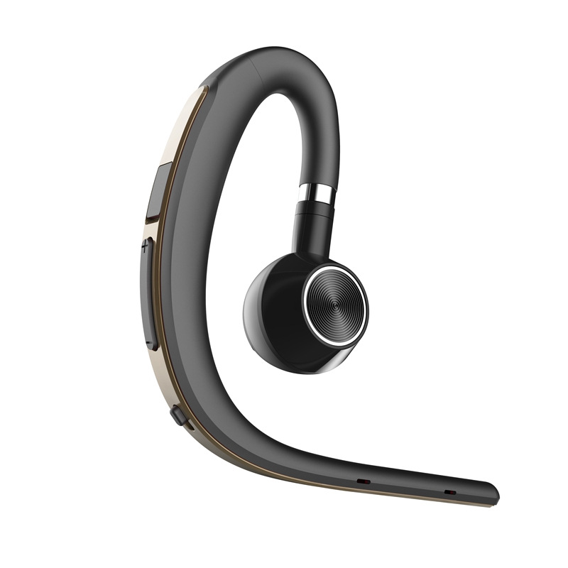 BT1200 Sports Business Bluetooth Headset S8 Wireless Hanging Ear Type In-ear Driving Long Standby Voice Control Report Rose gold