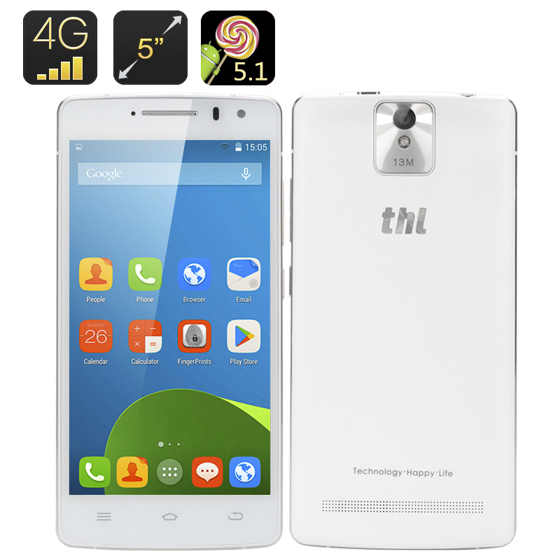 THL 2015A Android Smartphone (White)