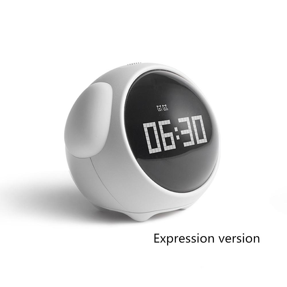 Cute Night Light Alarm Clock Led Smart Kids Digital Clock Home Decor Children Room Sleep Trainer Lamp Clocks