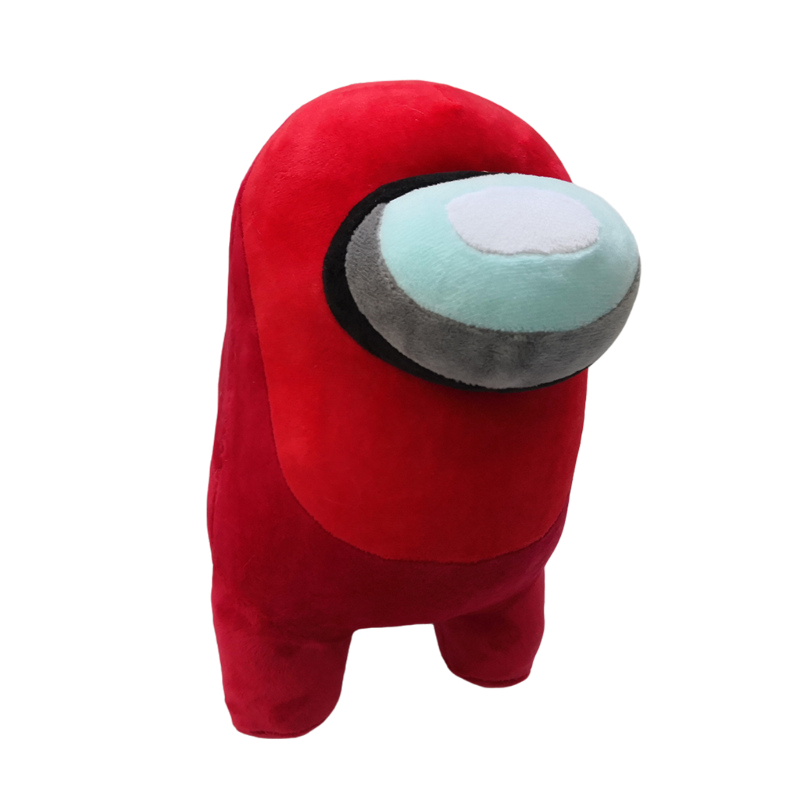 Hot Game Among Us Plush Toys Soft Animal Stuffed Doll Cute Among Us Plushie Figure Toys for Children Kids Christmas Gift 10cm red