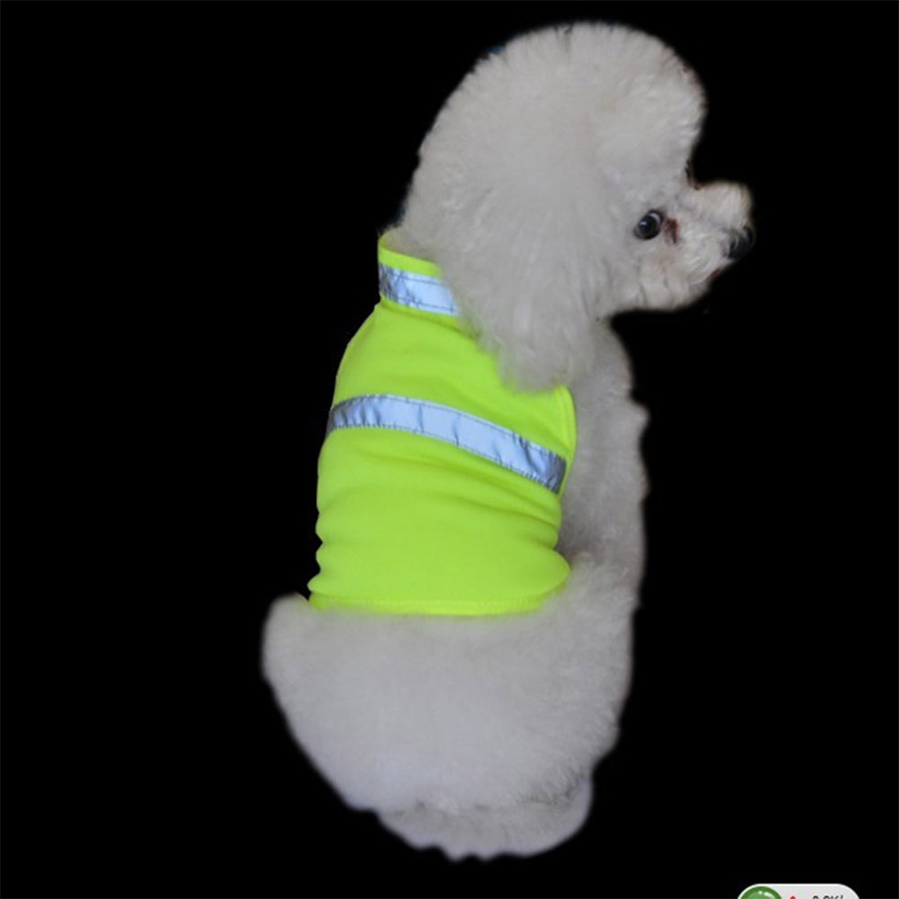 Pet Dog High Visibility Reflective Safety Vest for Outdoor Work Walking