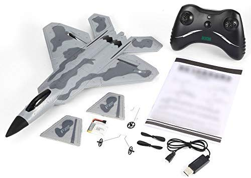 FX-822 F22 280mm Wingspan EPP RC Airplane Glider 2.4GHz RTF with Battery Remote Controller Mode 2