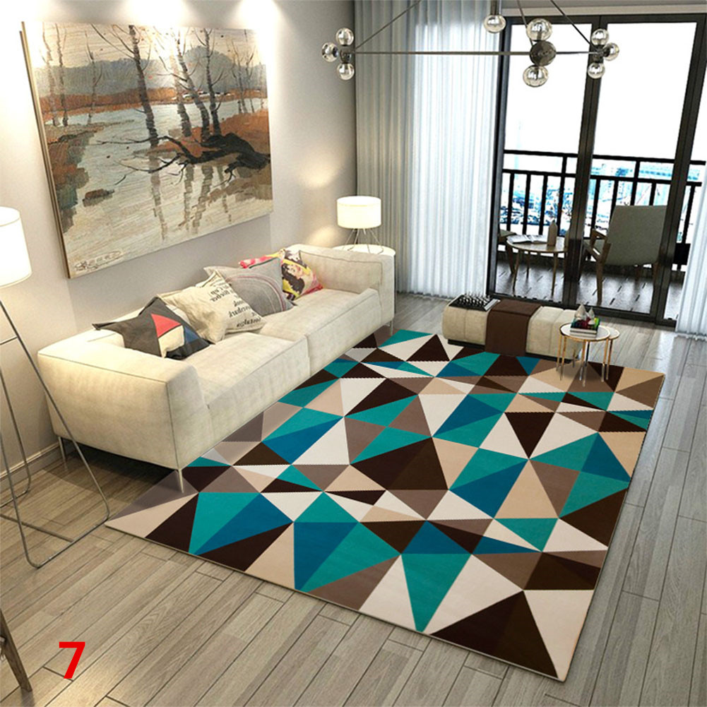 Anti Slip Soft Geometric Pattern Carpet