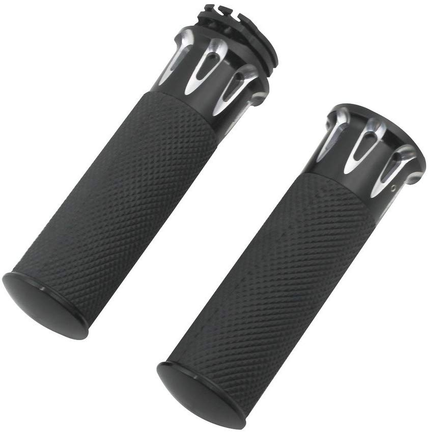 Motorcycle Handlebar 1inch 25mm Handle Bar Handle Grips black