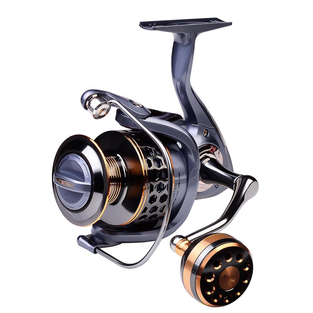 Fishing Reel Full Metal Wire Cup Sea Fishing Long Cast Spinning Fishing Reel Model 6000