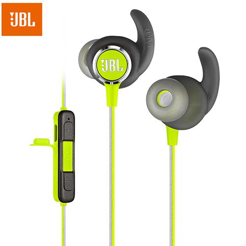 JBL Reflect Mini 2 Wireless Bluetooth Sports Earphones Music Headset Headphones with Microphone Speed Charge Sweatproof Earbuds green