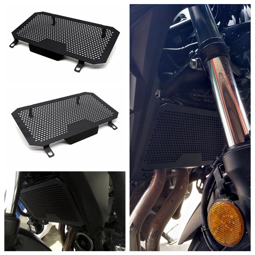 For HONDA CB400X/F CB500X/F Radiator Grille Guard Cover Protector black