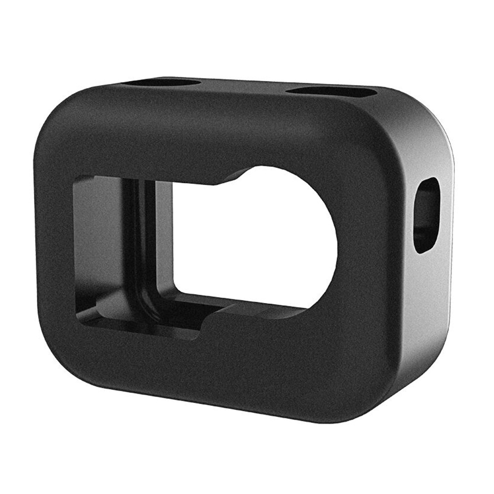 High Density Sponge Foam Windshield Housing Case Cover Shell for DJI Osmo Action with Frame Camera Accessories black
