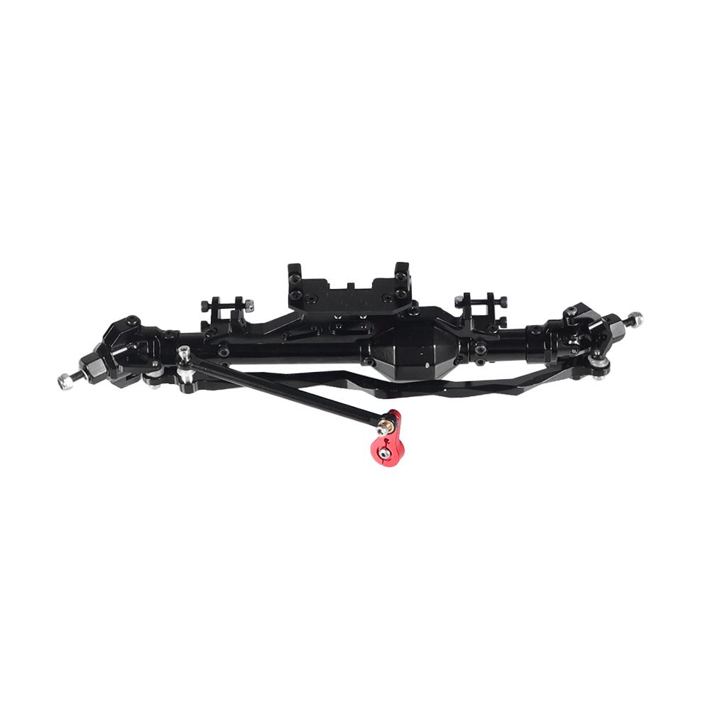 1/10 RC Car Axle Front+Rear Axle Aluminum Alloy Vehicle Bridge for RR10 WRAITH 90018 90045 RR10 90048 90053 RC Car Spare Parts Front axle