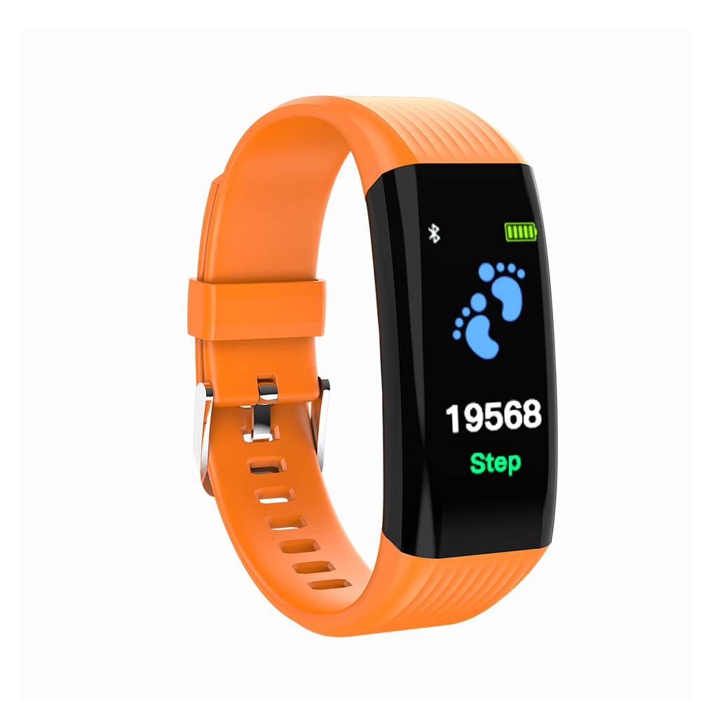 L2B38-B06 Sports Wristband Smart Band Orange