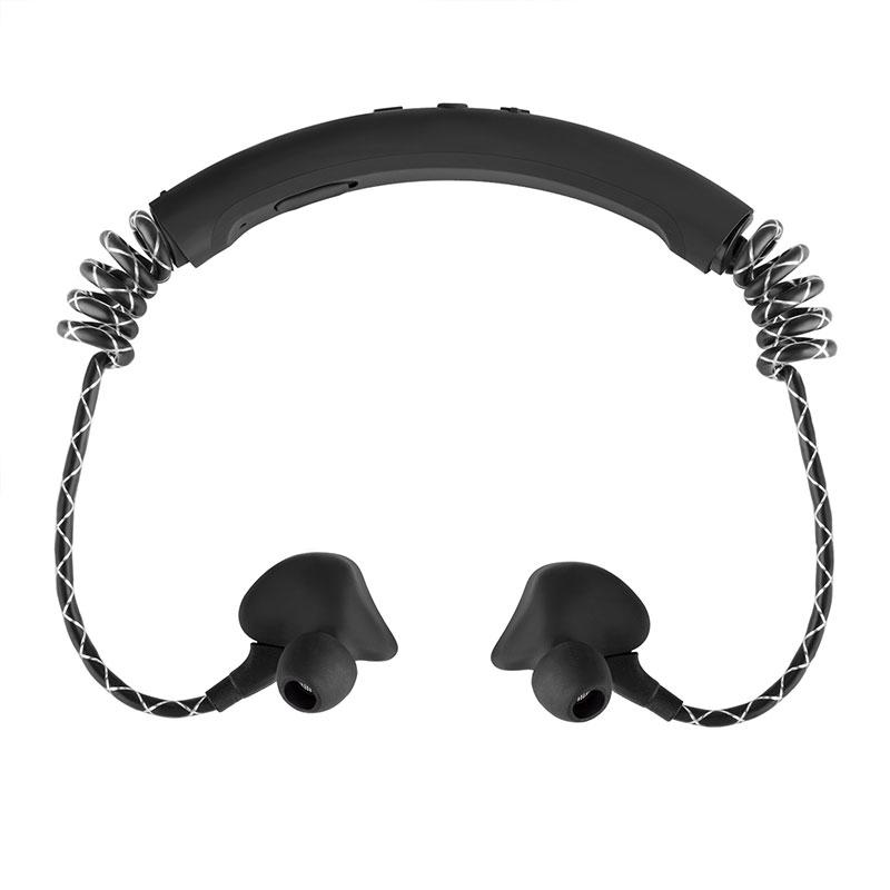 Bluetooth Headphones In The Ear Stereo Sport Headsets Bluetooth 5.0 Noise Reduction Wireless Earphone black