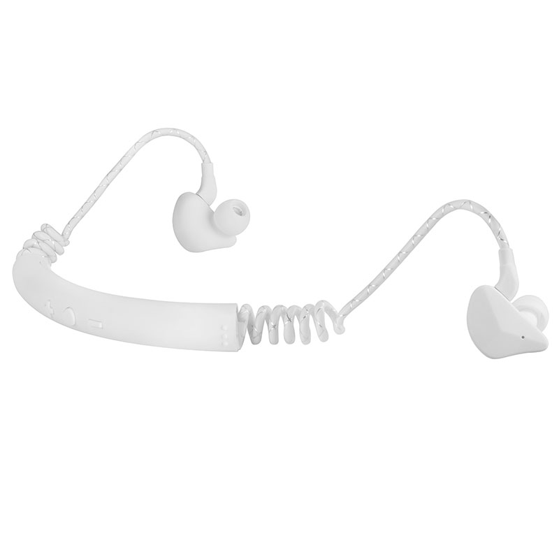 Bluetooth Headphones In The Ear Stereo Sport Headsets Bluetooth 5.0 Noise Reduction Wireless Earphone white
