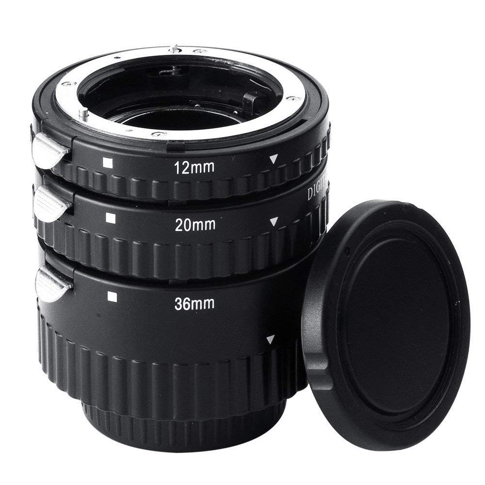 Extnp Auto Focus Macro Extension Tube Set for Nikon AF AF-S DX FX SLR Cameras  Nikon adapter ring