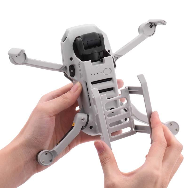 For DJI MAVIC MINI Landing Gear Protective Bracket Base Tripod Drone Booster Elevated Support Leg gray