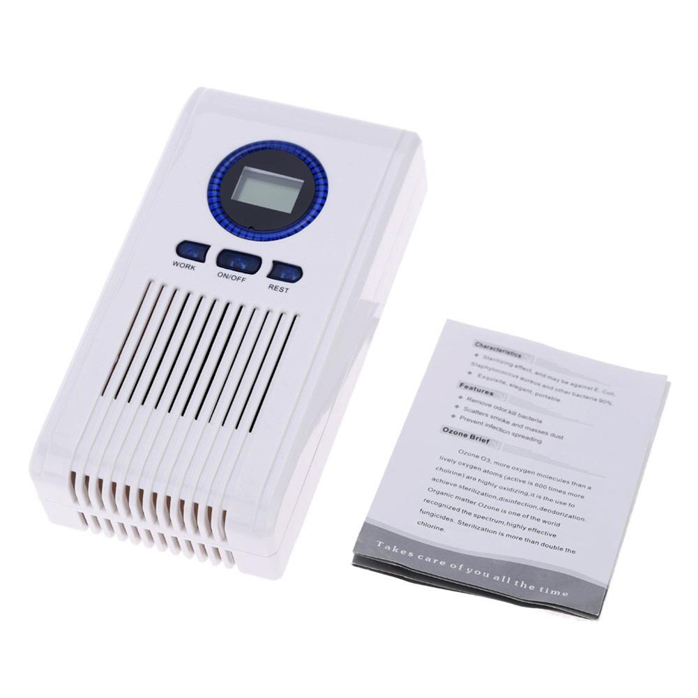 Ozone  Generator Air  Purifier Ozonizer  Cleaner Air  Freshener For  Home  Bathroom 220v  100mg white
