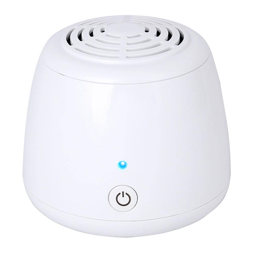Home Portable Mini Air  Purifier Air  Cleaner Anion  Ionizer  Negative  Ion  Generator white