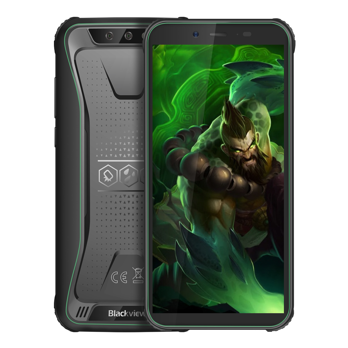 Blackview BV5500 Pro 3+16GB 4G Phone Green