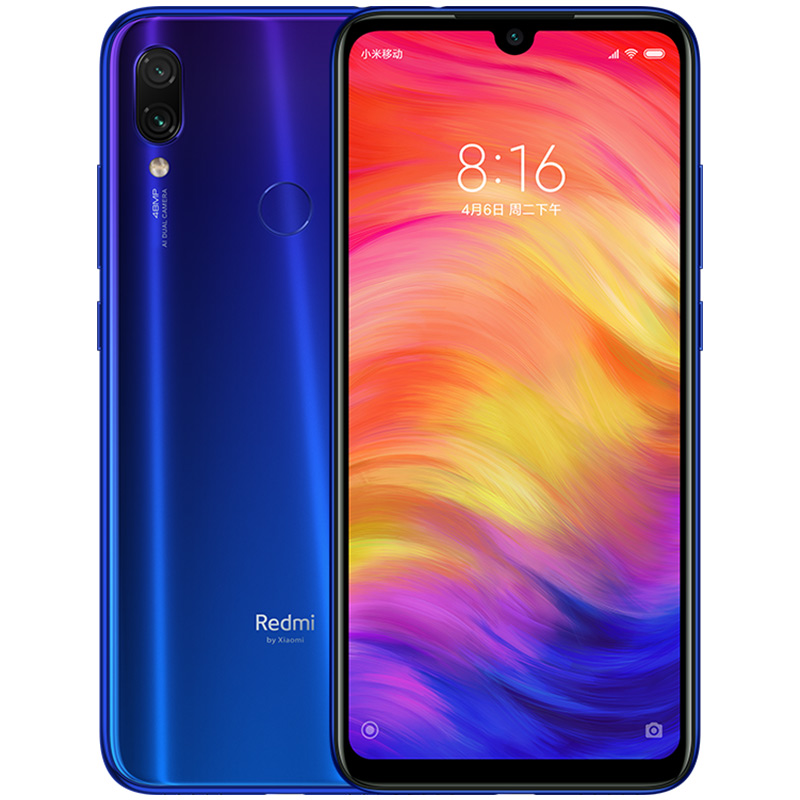 Xiaomi Redmi Note 7 3+32GB Cell Phone Blue