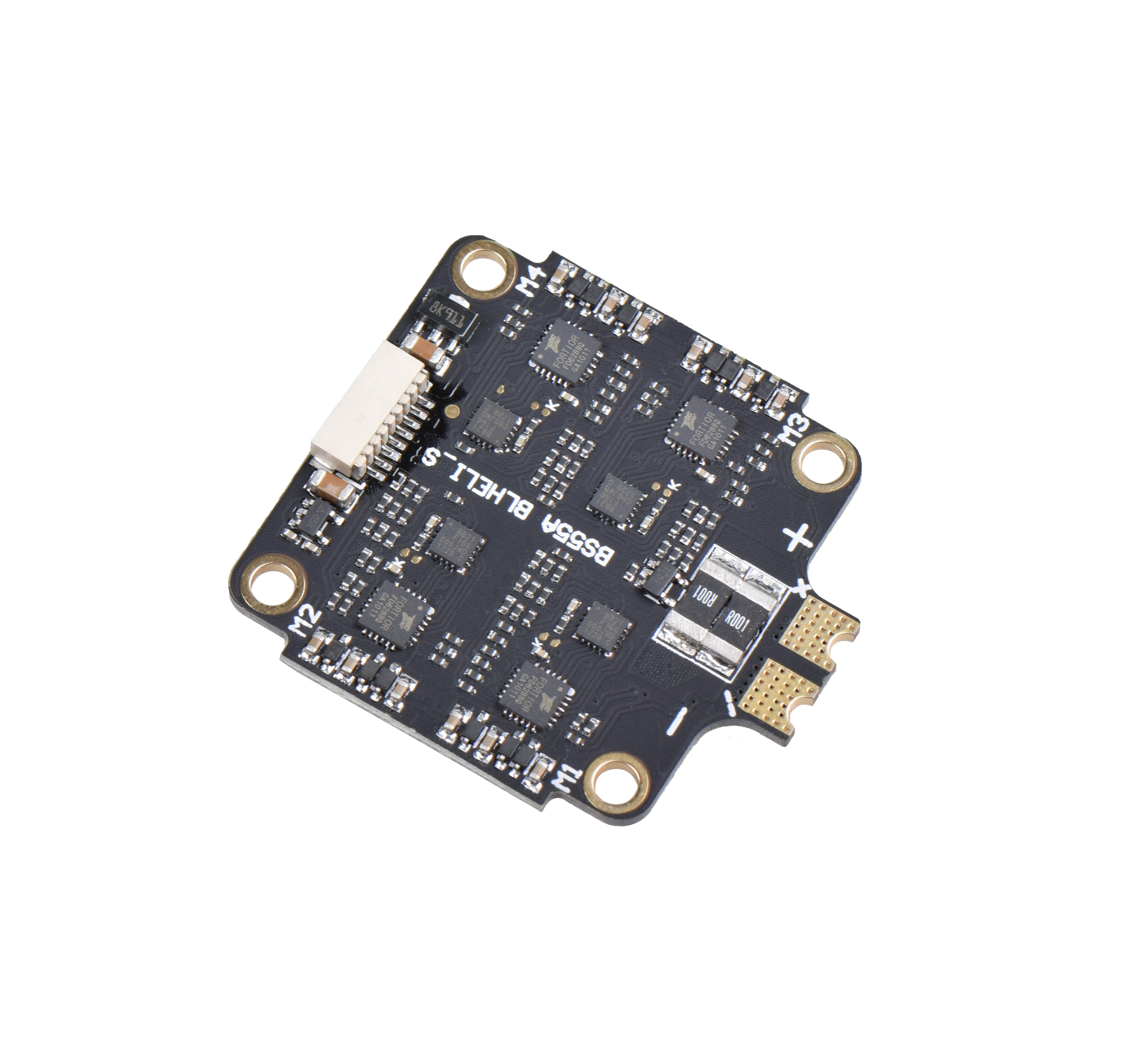 BS-55A 2-6s 4 In 1 55A / 40A ESC BLHeli_S ESC Speed controller board Support Dshot150 Dshot300 Dshot600 for RC Drone FPV Racing Models BS-40A