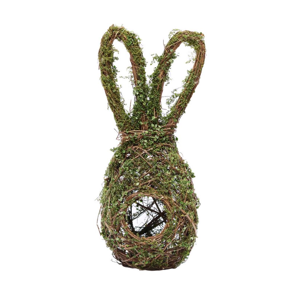 Rabbit Shape Bird  Nest Hanging Pendant Easter Decoration Photo Props Rabbit bird