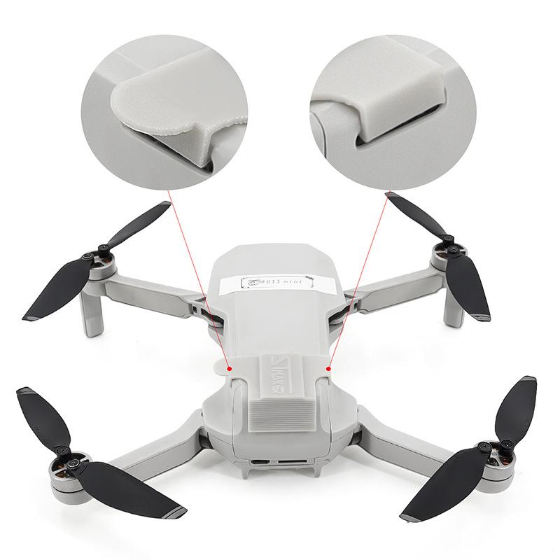 Mavic Mini Battery Protective Cover Fixed Holder Mount for DJI Mavic Mini Drone Extension Accessories gray