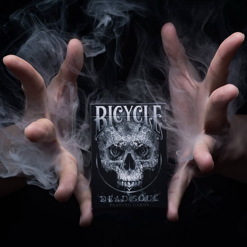Bicycle Dead Soul Playing Cards USA Bicycle Poker 88*63mm default