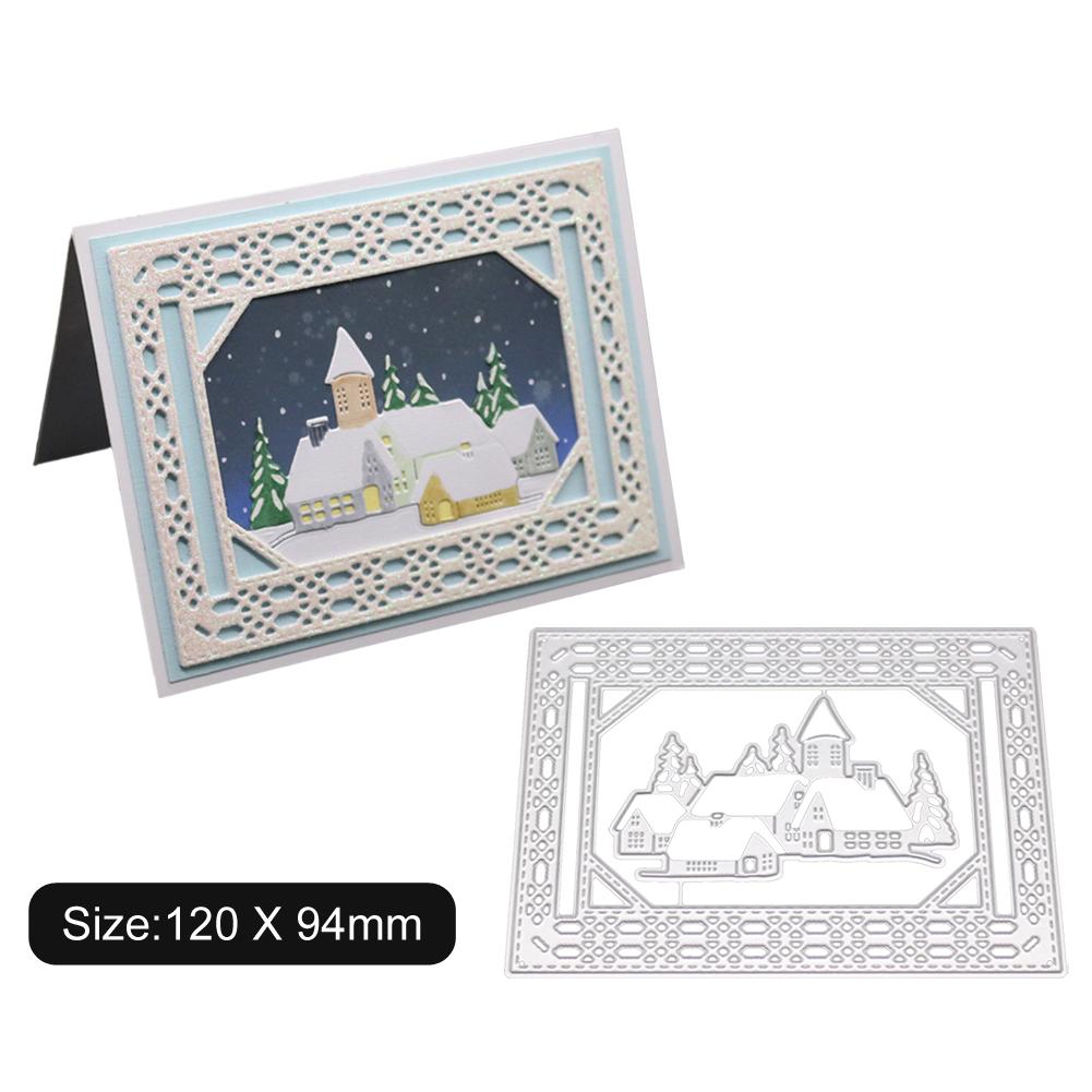 Carbon Steel Cutting Dies for DIY Christmas Series Scrapbooking Album Paper Cards Die Cuts 1805107