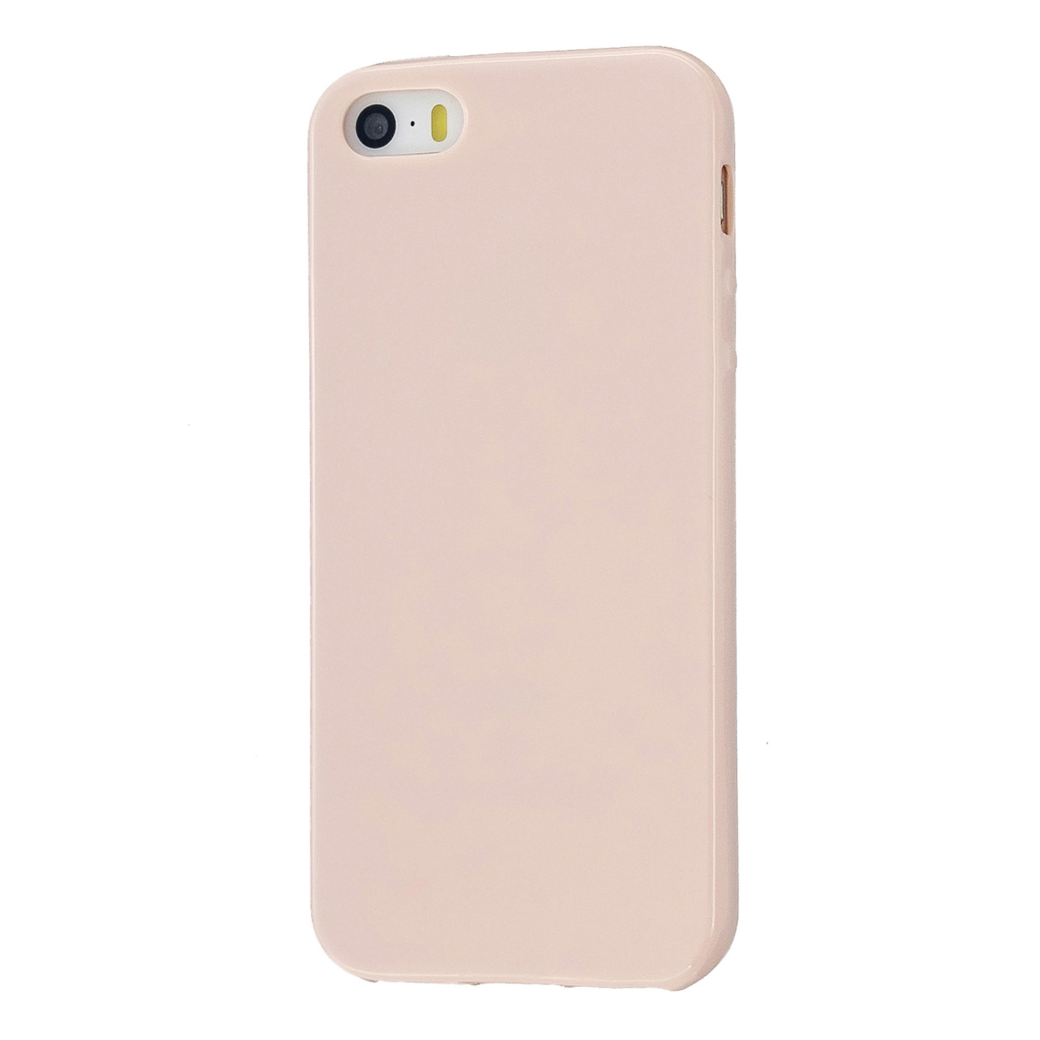 For iPhone 5/5S/SE/6/6S/6 Plus/6S Plus/7/8/7 Plus/8 Plus Cellphone Cover Soft TPU Bumper Protector Phone Shell Sakura pink