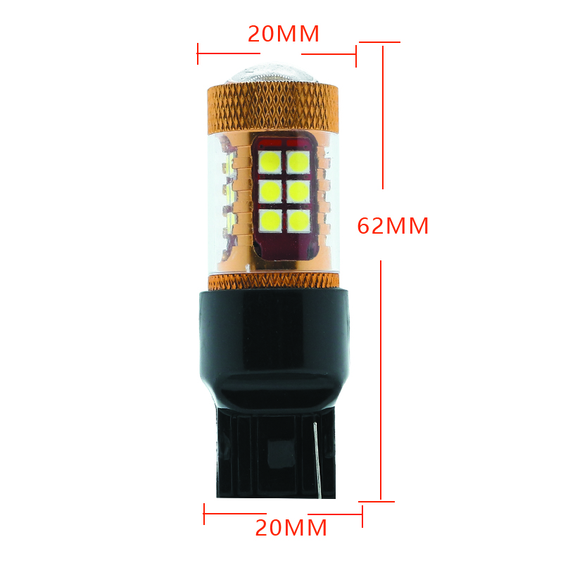 2pcs Car light 3030 28 SMD LED 3156 3157 Reverse Light Turn signal Bulb Brake lights 12V 3156 white