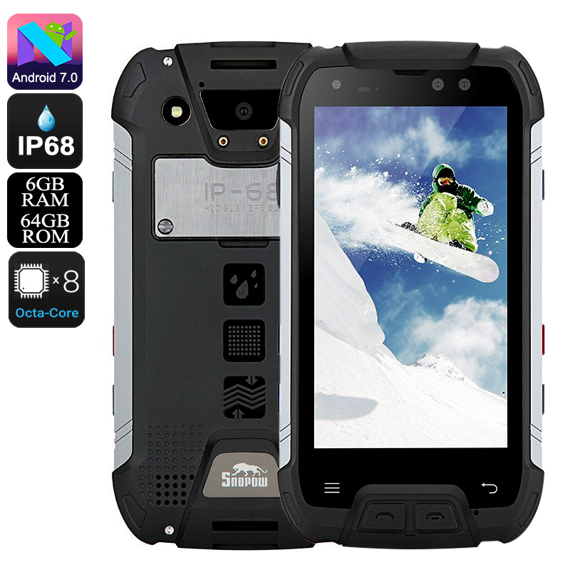 Snopow M10 Rugged Phone (Black)