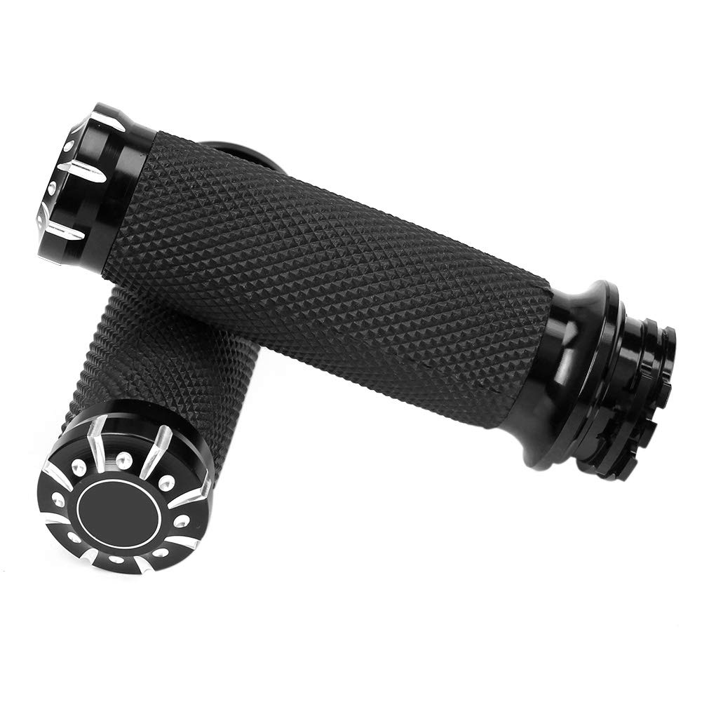 1 inch Motorcycle Handle for  Touring Sportster Dyna Softail VRSC black