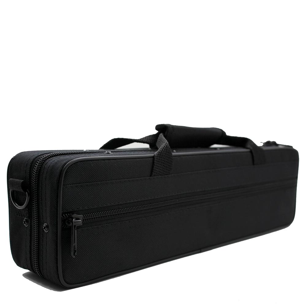 Oxford Cloth Flute Bag Carry Case Cover with Removable Shoulder Strap  black