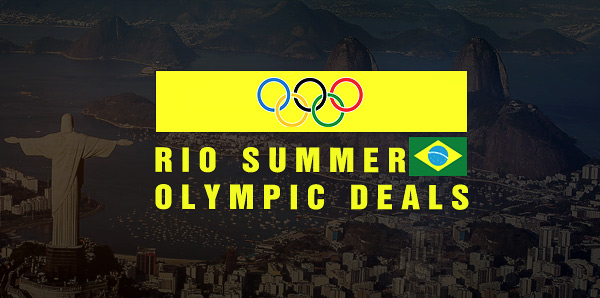 Rio Summer Olympic Deals