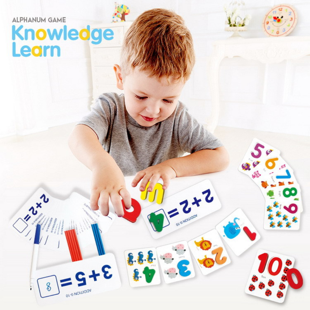 Mathematical Toys For Kids Preprimary Children Number Pairing Addition And Subtraction Enlightening Aids Toys Math Toys As shown