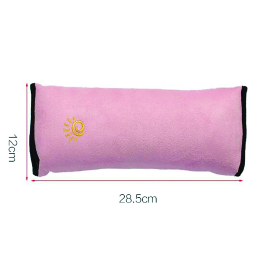 Car Seat Belt Cover Pad Fabric Shoulder Protection Pillow Shoulder Strap Case for Safety Napping Resting