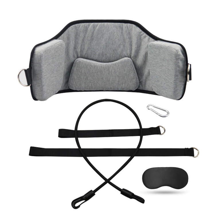 Head Hammock Neck Pain Relief Support Massager Cervical Traction Stretcher gray_One size