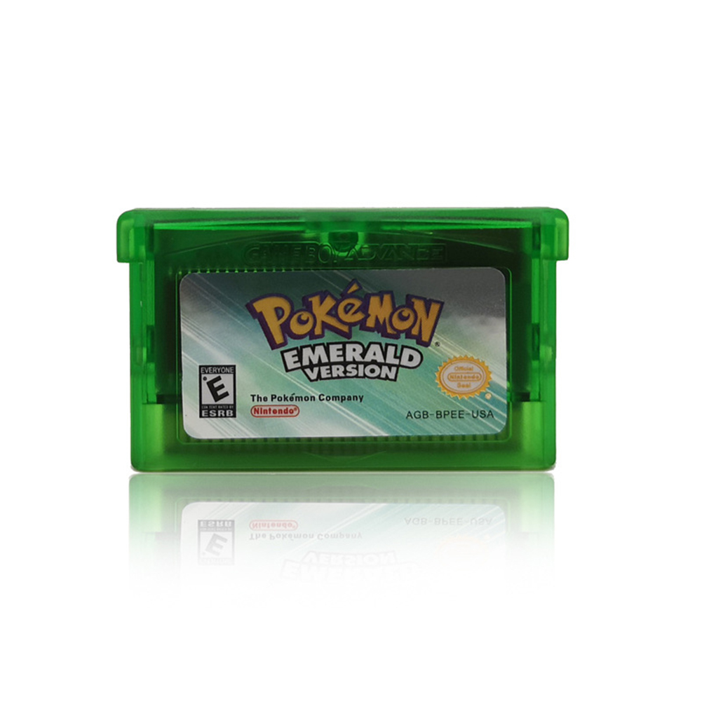 Handheld Console Video Game Cartridge Card for Nintend NDSL GB GBC GBM GBA SP EMERALD VERSION