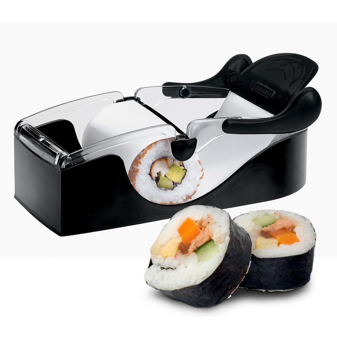 PP DIY Sushi  Maker Sushi Roller Mould Household Kitchen Tools Utensils 18.5cm