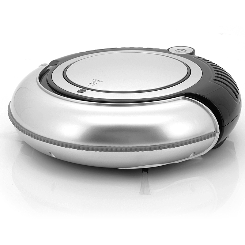 Robotic Vacuum Cleaner w/ LED Lights (B)