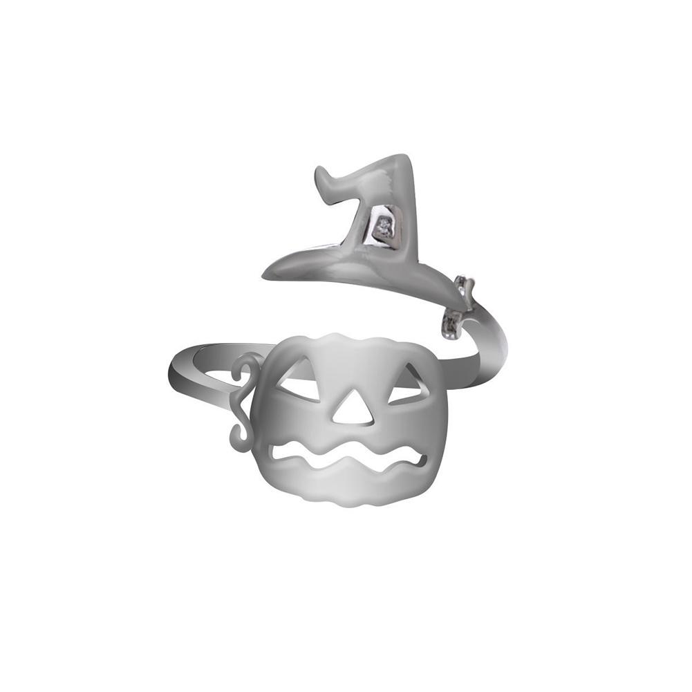Opening Type Adjustable Ring Halloween Elements Ring 1#_Opening adjustable