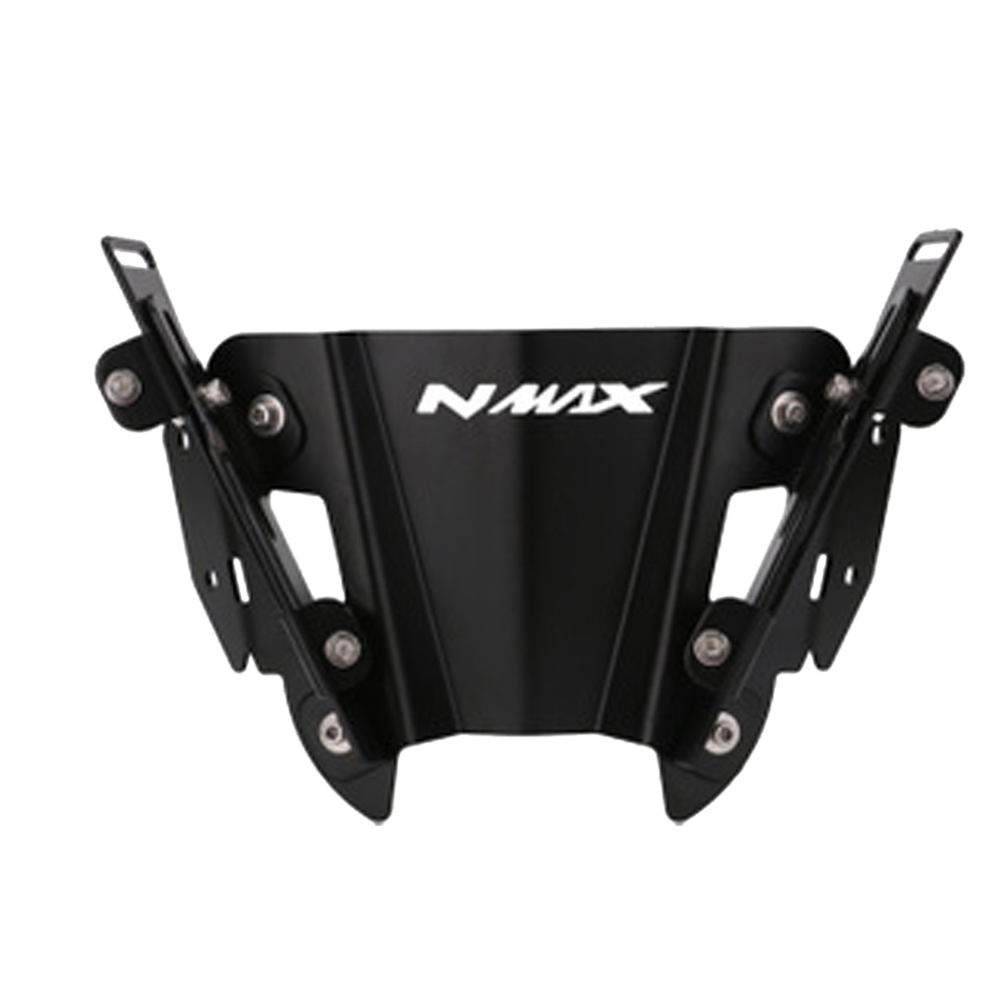 Motorcycle Metal Rearview Bracket for Yamaha NMAX155 125 150 2015-2018 2019 Rear Side View Mirrors Adapter Fixed Stent Holder black