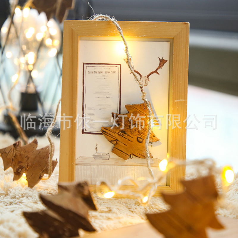 LED String Light Pine Cone Copper Wire Fairy Lamp for Christmas Home Wedding Party Christmas tree